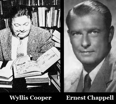 A picture of Wyllis Cooper and Ernest Chappell